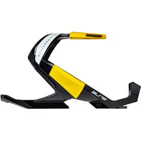 Elite Custom Race Plus Bidonhouder, glossy black/yellow design